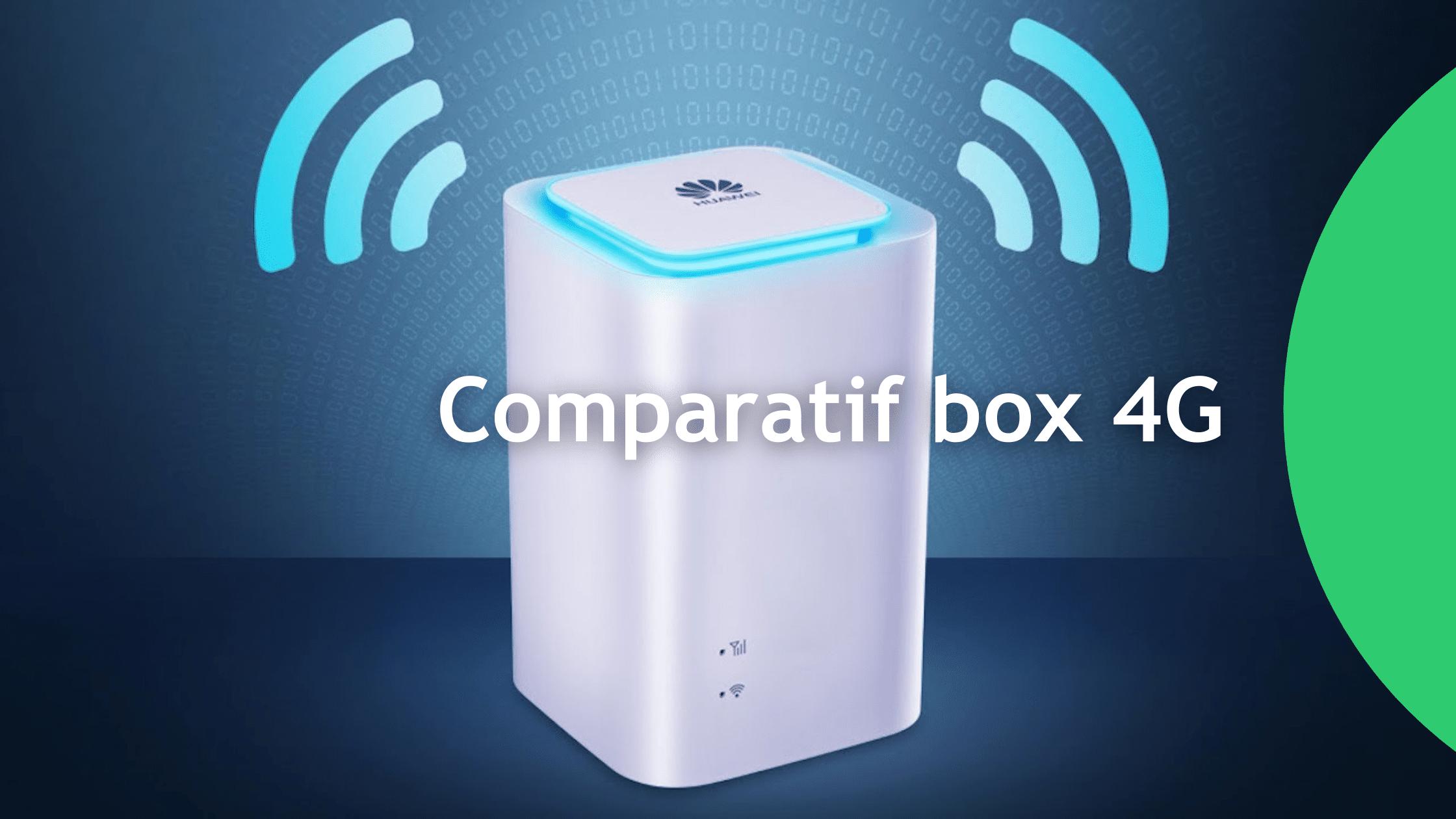 Comparatif box 4G
