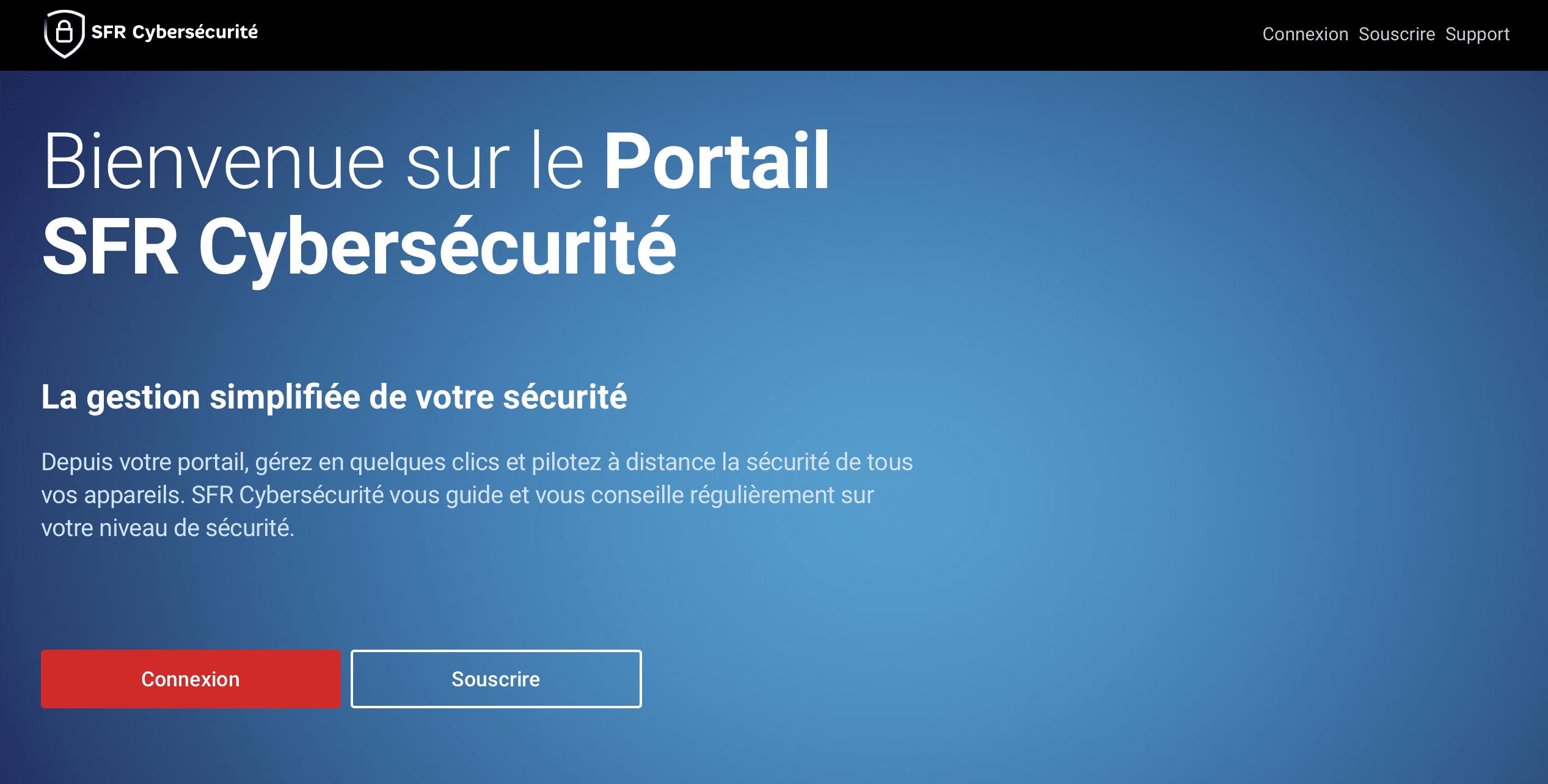 SFR Cybersécurité