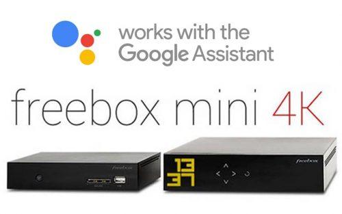 google assistant freebox mini 4K