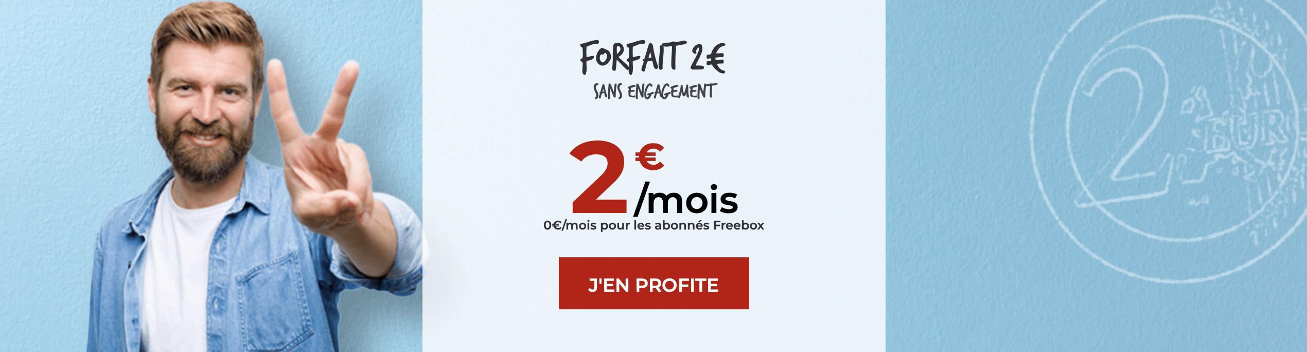 forfait prépayé Free €2